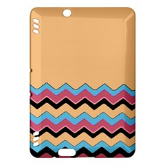 Chevrons Patterns Colorful Stripes Kindle Fire Hdx Hardshell Case