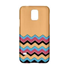 Chevrons Patterns Colorful Stripes Samsung Galaxy S5 Hardshell Case