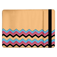 Chevrons Patterns Colorful Stripes Samsung Galaxy Tab Pro 12.2  Flip Case