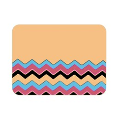 Chevrons Patterns Colorful Stripes Double Sided Flano Blanket (mini)