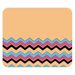 Chevrons Patterns Colorful Stripes Double Sided Flano Blanket (small)