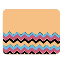 Chevrons Patterns Colorful Stripes Double Sided Flano Blanket (large)