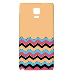 Chevrons Patterns Colorful Stripes Galaxy Note 4 Back Case