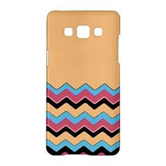 Chevrons Patterns Colorful Stripes Samsung Galaxy A5 Hardshell Case