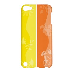 Floral Colorful Seasonal Banners Apple Ipod Touch 5 Hardshell Case