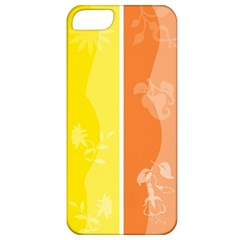 Floral Colorful Seasonal Banners Apple iPhone 5 Classic Hardshell Case