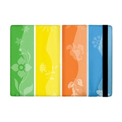 Floral Colorful Seasonal Banners Apple Ipad Mini Flip Case