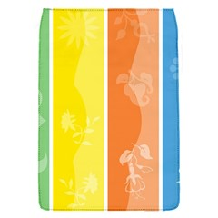 Floral Colorful Seasonal Banners Flap Covers (S)