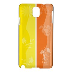 Floral Colorful Seasonal Banners Samsung Galaxy Note 3 N9005 Hardshell Case