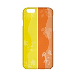 Floral Colorful Seasonal Banners Apple iPhone 6/6S Hardshell Case