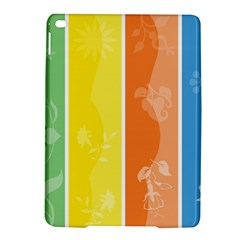 Floral Colorful Seasonal Banners iPad Air 2 Hardshell Cases