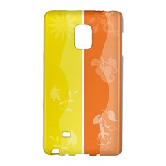Floral Colorful Seasonal Banners Galaxy Note Edge