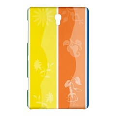 Floral Colorful Seasonal Banners Samsung Galaxy Tab S (8 4 ) Hardshell Case