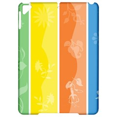 Floral Colorful Seasonal Banners Apple Ipad Pro 9 7   Hardshell Case