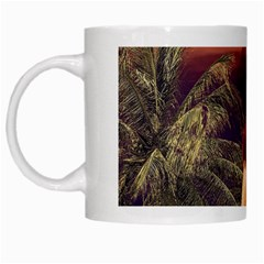Tropical Style Collage Design Poster White Mugs