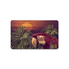 Tropical Style Collage Design Poster Magnet (Name Card)