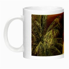 Tropical Style Collage Design Poster Night Luminous Mugs