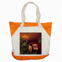 Tropical Style Collage Design Poster Accent Tote Bag