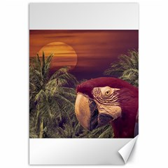 Tropical Style Collage Design Poster Canvas 20  x 30