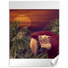 Tropical Style Collage Design Poster Canvas 36  x 48