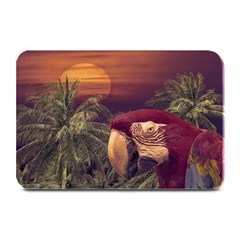 Tropical Style Collage Design Poster Plate Mats