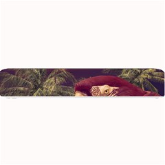 Tropical Style Collage Design Poster Small Bar Mats