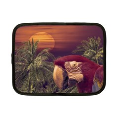 Tropical Style Collage Design Poster Netbook Case (Small)
