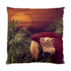 Tropical Style Collage Design Poster Standard Cushion Case (Two Sides)