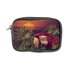 Tropical Style Collage Design Poster Coin Purse