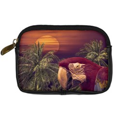 Tropical Style Collage Design Poster Digital Camera Cases