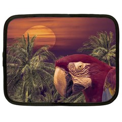 Tropical Style Collage Design Poster Netbook Case (XL)