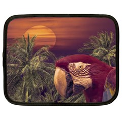 Tropical Style Collage Design Poster Netbook Case (xxl)