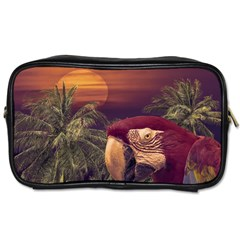 Tropical Style Collage Design Poster Toiletries Bags