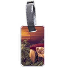 Tropical Style Collage Design Poster Luggage Tags (Two Sides)