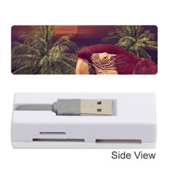 Tropical Style Collage Design Poster Memory Card Reader (Stick)