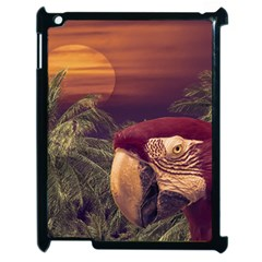 Tropical Style Collage Design Poster Apple iPad 2 Case (Black)