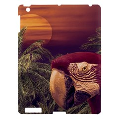 Tropical Style Collage Design Poster Apple iPad 3/4 Hardshell Case