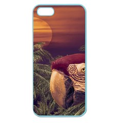Tropical Style Collage Design Poster Apple Seamless iPhone 5 Case (Color)