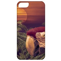 Tropical Style Collage Design Poster Apple iPhone 5 Classic Hardshell Case