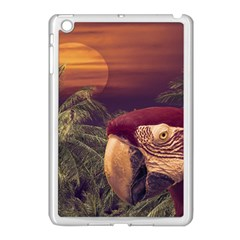 Tropical Style Collage Design Poster Apple iPad Mini Case (White)