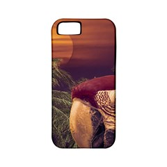 Tropical Style Collage Design Poster Apple iPhone 5 Classic Hardshell Case (PC+Silicone)