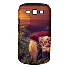 Tropical Style Collage Design Poster Samsung Galaxy S III Classic Hardshell Case (PC+Silicone)