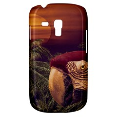 Tropical Style Collage Design Poster Galaxy S3 Mini