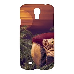 Tropical Style Collage Design Poster Samsung Galaxy S4 I9500/I9505 Hardshell Case