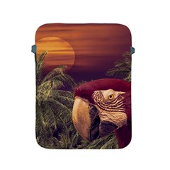 Tropical Style Collage Design Poster Apple iPad 2/3/4 Protective Soft Cases