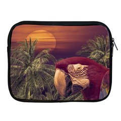 Tropical Style Collage Design Poster Apple iPad 2/3/4 Zipper Cases