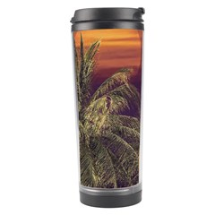 Tropical Style Collage Design Poster Travel Tumbler