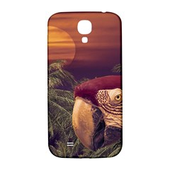 Tropical Style Collage Design Poster Samsung Galaxy S4 I9500/I9505  Hardshell Back Case