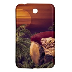 Tropical Style Collage Design Poster Samsung Galaxy Tab 3 (7 ) P3200 Hardshell Case