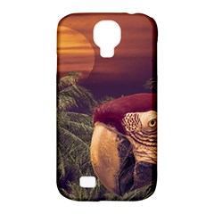 Tropical Style Collage Design Poster Samsung Galaxy S4 Classic Hardshell Case (PC+Silicone)
